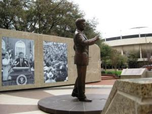 JFK Tribute in downtown Fort Worth